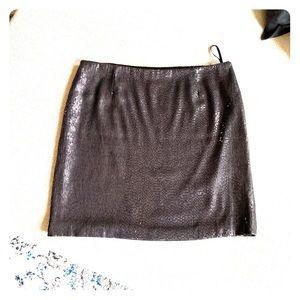 White House Black Market sequin mini skirt- 8